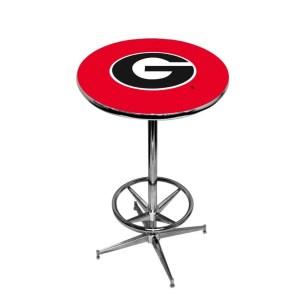 Georgia Bulldogs College Logo Pub Table | moneymachines.com