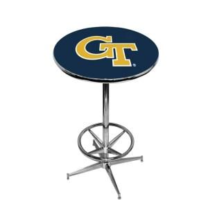 Georgia Tech Yellow Jackets College Logo Pub Table | moneymachines.com