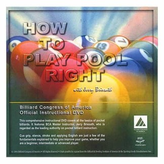 How to Play Pool Right DVD | moneymachines.com
