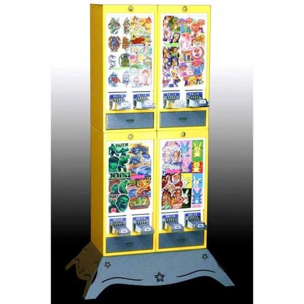Impulse 8 Column Sticker Tattoo Vending Machine | moneymachines.com