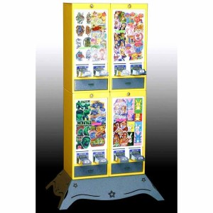 Impulse 8 Column Sticker Tattoo Vending Machine | moneymachines.com