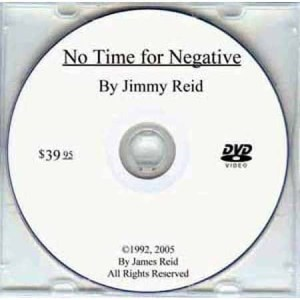 Jimmy Reid No Time For Negative DVD | moneymachines.com