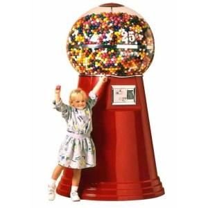 Jumbo Giant Gumball Vending Machine   moneymachines.com