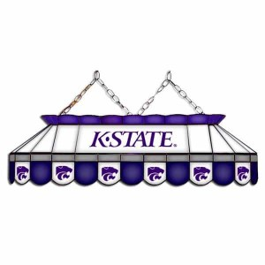 "Kansas State Wildcats MVP 40"" Tiffany Stained Glass Pool Table Lamp 