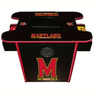 Maryland Terrapins Arcade Multi-Game Machine | moneymachines.com