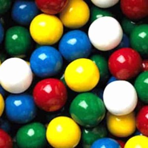 Mega Mouth Gumballs - Assorted Case Of 2 Inch 138 Count | moneymachines.com