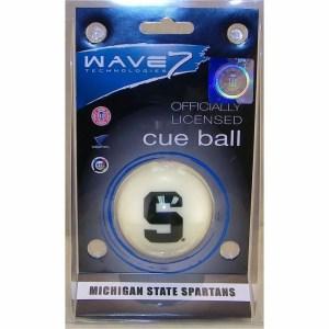 Michigan State Spartans Billiard Cue Ball   moneymachines.com