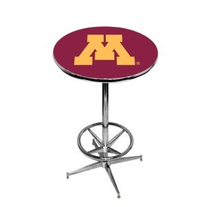 Minnesota Golden Gophers College Logo Pub Table | moneymachines.com