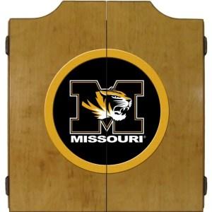 Mizzou Tigers College Logo Dart Cabinet | moneymachines.com