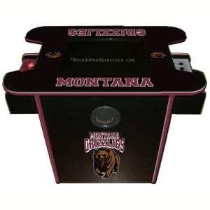 Montana Grizzlies Arcade Multi-Game Machine | moneymachines.com
