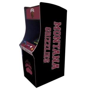 Montana Grizzlies Arcade Multi-Game Machine | moneymachines.com