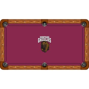 Montana Grizzlies Billiard Table Cloth | moneymachines.com