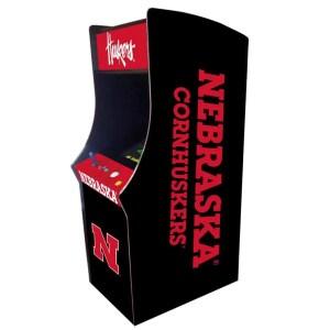 Nebraska Cornhuskers Arcade Multi-Game Machine | moneymachines.com