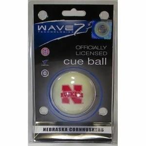 Nebraska Cornhuskers Billiard Cue Ball | moneymachines.com