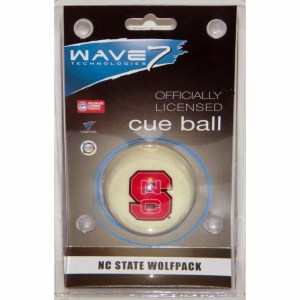 North Carolina State Wolfpack Billiard Cue Ball | moneymachines.com