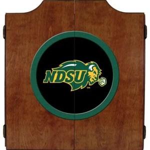 North Dakota State Bison College Logo Dart Cabinet   moneymachines.com