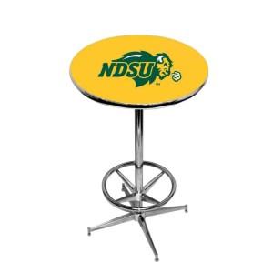 North Dakota State Bison College Logo Pub Table   moneymachines.com