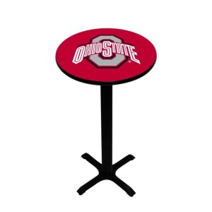 Ohio State Buckeyes College Logo Pub Table | moneymachines.com