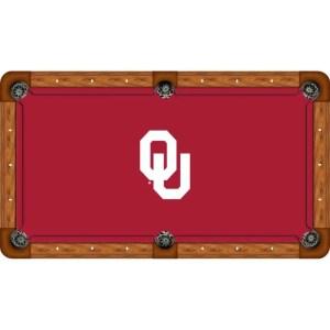 Oklahoma Sooners Billiard Table Cloth | moneymachines.com