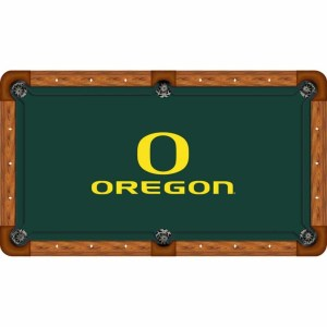 Oregon Ducks Billiard Table Cloth | moneymachines.com