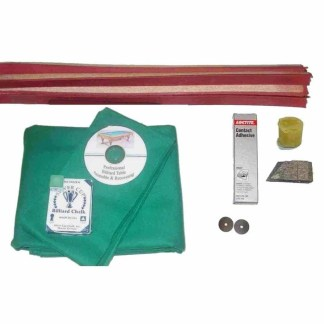 Proline Match 202 Pool Table Complete Recovering Kits | moneymachines.com