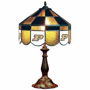 Purdue Boilermakers Stained Glass Table Lamp | moneymachines.com