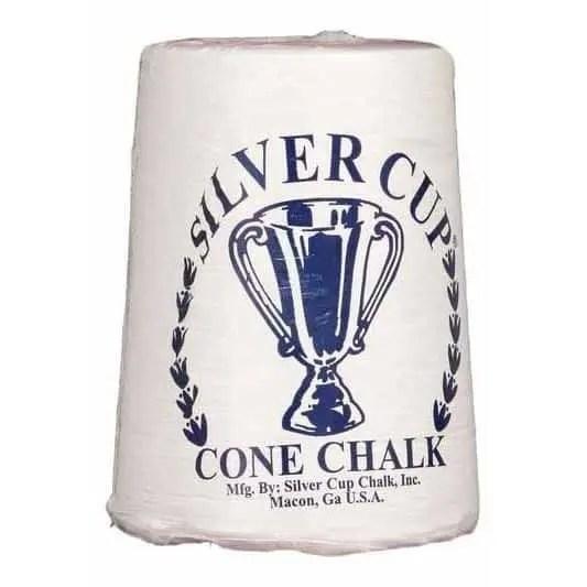 Silver Cup White Talc Cone Hand Chalk | moneymachines.com