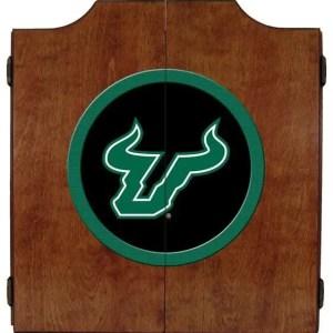 South Florida Bulls College Logo Dart Cabinet | moneymachines.com