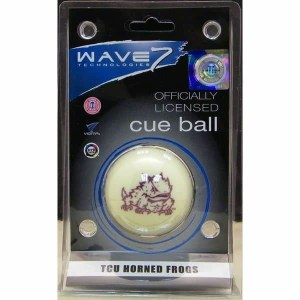 TCU Horned Frogs Billiard Cue Ball | moneymachines.com