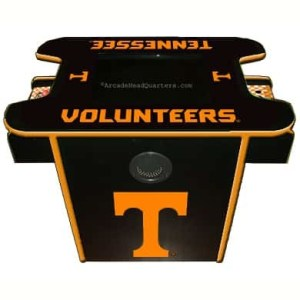 Tennessee Volunteers Arcade Multi-Game Machine | moneymachines.com