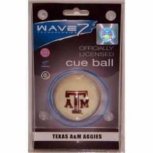 Texas A&M Aggies Billiard Cue Ball | moneymachines.com
