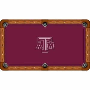 Texas A&M Aggies Billiard Table Cloth | moneymachines.com