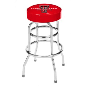 Texas Tech Red Raiders College Logo Double Rung Bar Stool | moneymachines.com