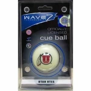 Utah Utes Billiard Cue Ball | moneymachines.com