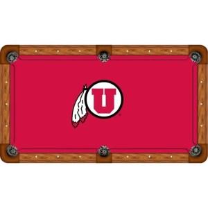 Utah Utes Billiard Table Cloth | moneymachines.com