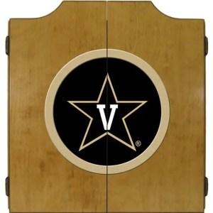 Vanderbilt Commodores College Logo Dart Cabinet   moneymachines.com