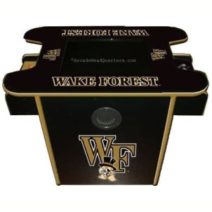 Wake Forest Demon Deacons Arcade Multi-Game Machine | moneymachines.com
