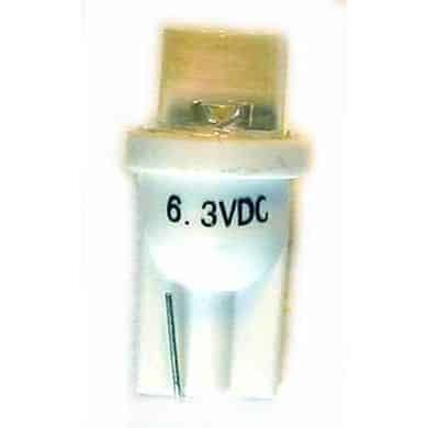 #555 Clear/White Ablaze LED Lamp | moneymachines.com