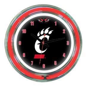 Cincinnati Neon Wall Clock | moneymachines.com