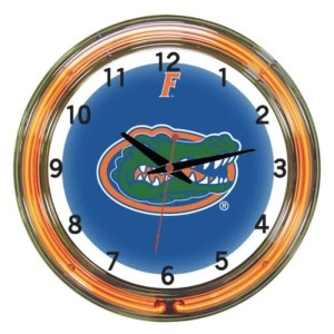 Florida Gators Neon Wall Clock | Moneymachines.com