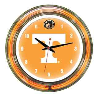 Tennessee Volunteers Neon Wall Clock | Moneymachines.com