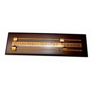 Deluxe Mahogany Scoring Board | Deluxe Mahogany Scoring Board