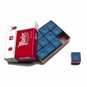Master Cue Chalk - Box of 12   moneymachines.com
