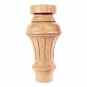 Trumpet Wood Pool Table Leg | moneymachines.com