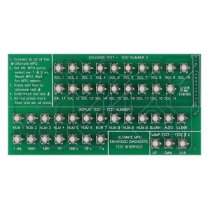 Ultimate Bally Pinball Machine Test Card | moneymachines.com