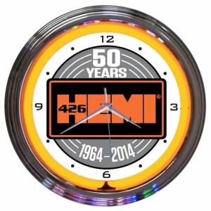 AUTO – MOPAR HEMI 50TH ANNIVERSARY CLOCK – 8MPORA   moneymachines.com