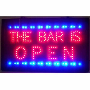 BAR IS OPEN LED SIGN – 5BRLED | moneymachines.com