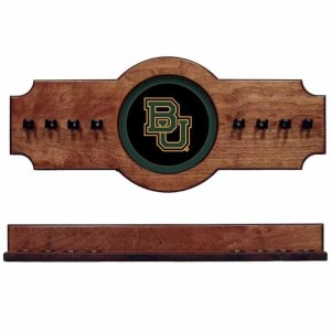 Baylor 2-Piece Cue Rack Pecan | Moneymachines.com