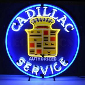 CADILLAC SERVICE NEON SIGN – 5CADSR | moneymachines.com