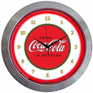 COCA-COLA 1910 NEON CLOCK – 8CCCLA | moneymachines.com
